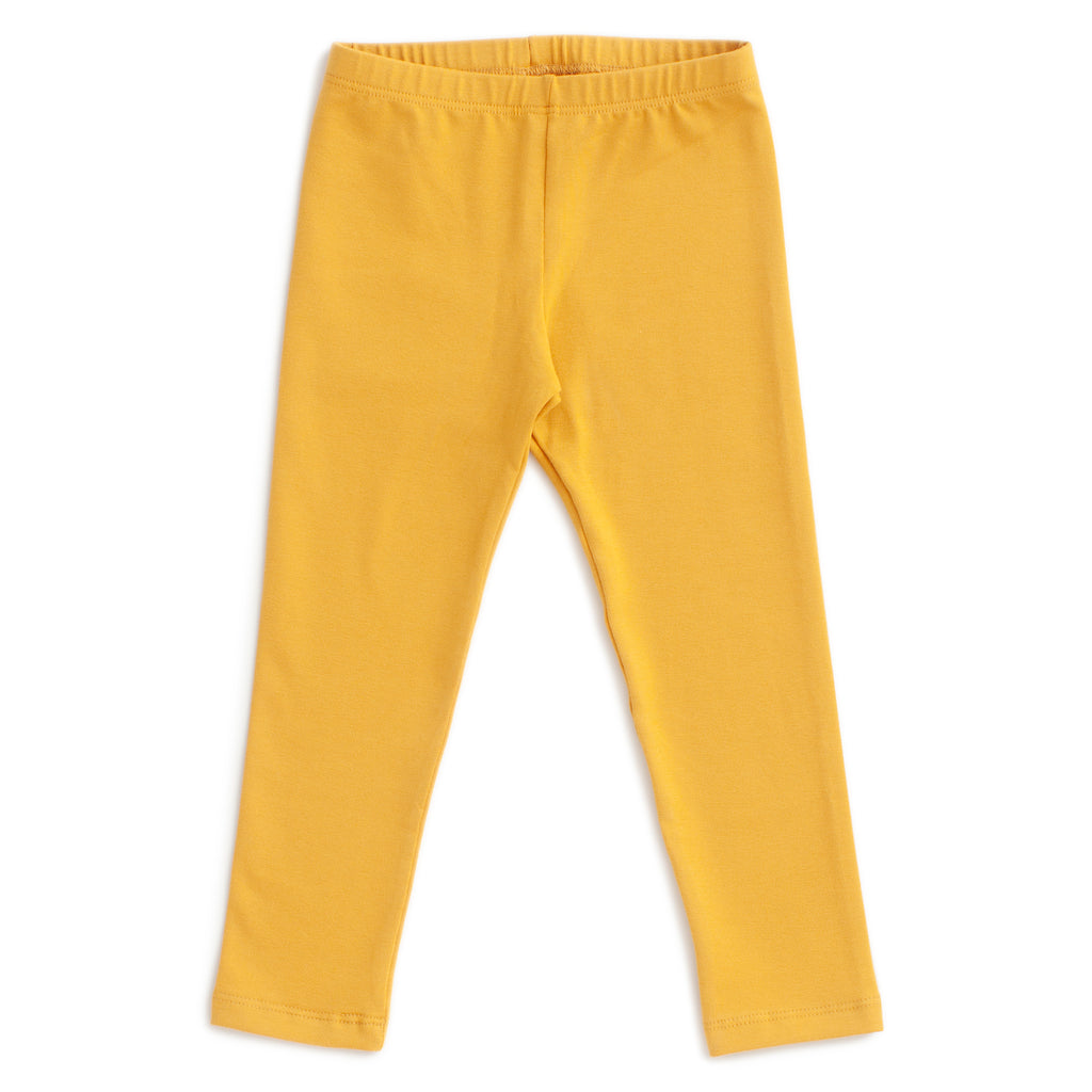 Baby Leggings - Solid Ochre