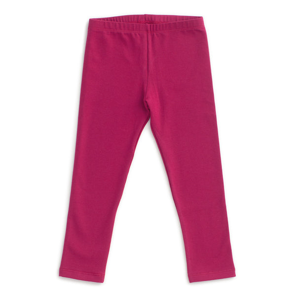 Baby Leggings - Solid Plum