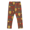 Baby Leggings - Root Vegetables Chestnut