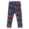Leggings - Root Vegetables Night Sky