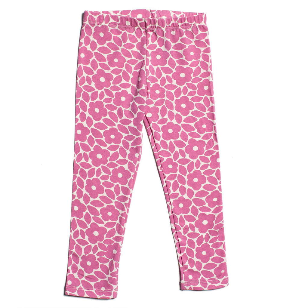 Baby Leggings - Marrakesh Floral Dusty Rose