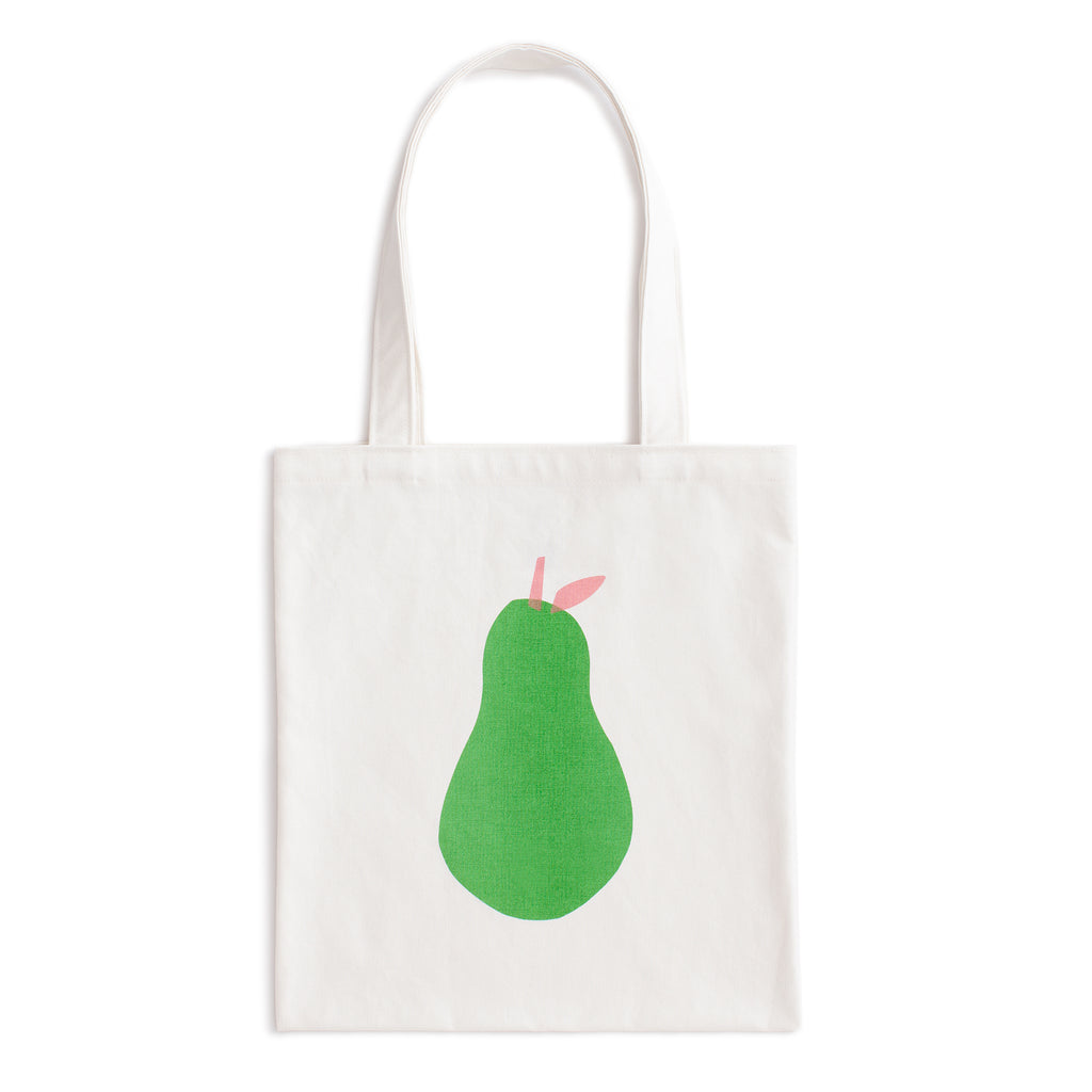 AJJ x WWF Canvas Tote - Pear
