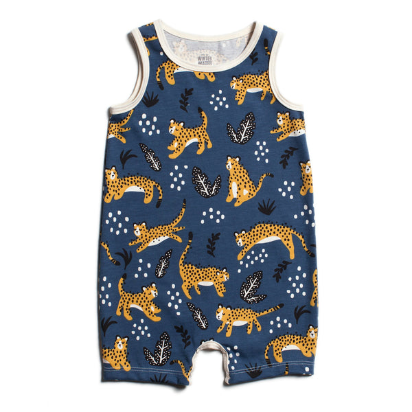 Tank-Top Romper - Wildcats Navy
