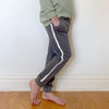 Track Pants - Solid Slate Blue