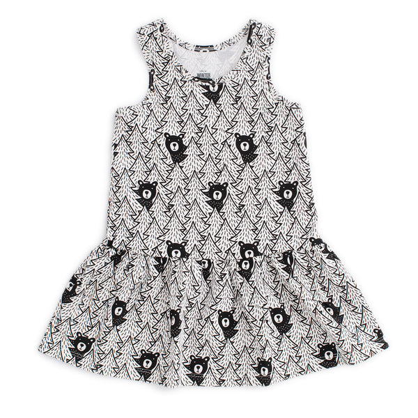 Valencia Dress - Bears Black