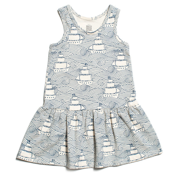 Valencia Dress - High Seas Navy