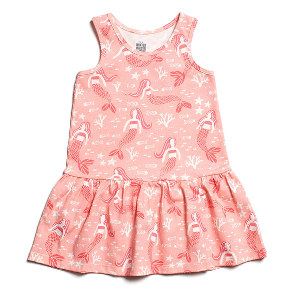 Valencia Dress - Mermaids Pink