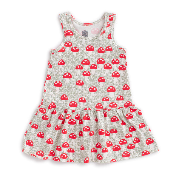 Valencia Dress - Mushrooms Sage
