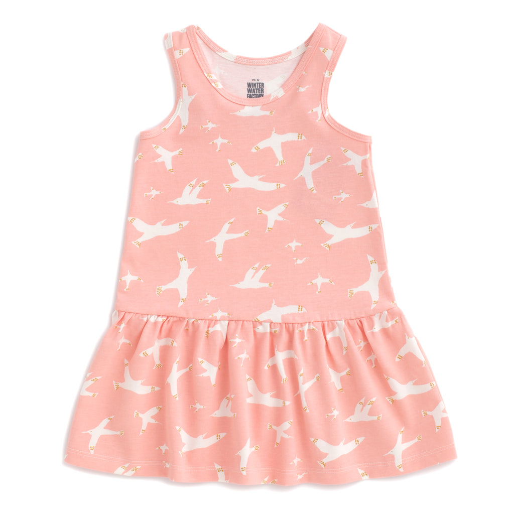 Valencia Dress - Skybirds Blush Pink