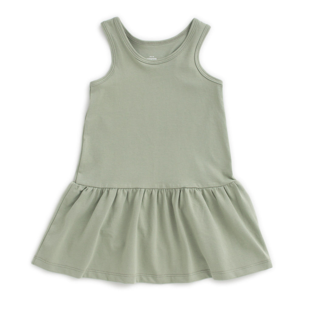 Valencia Dress - Solid Sage