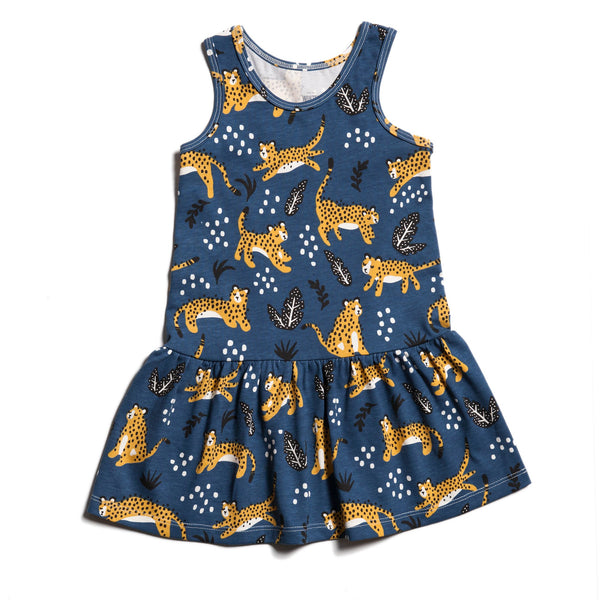 Valencia Dress - Wildcats Navy