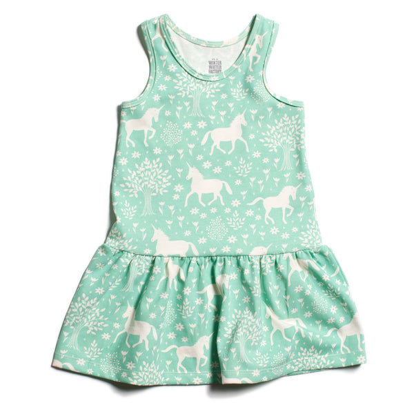 Valencia Dress - Magical Forest Mint