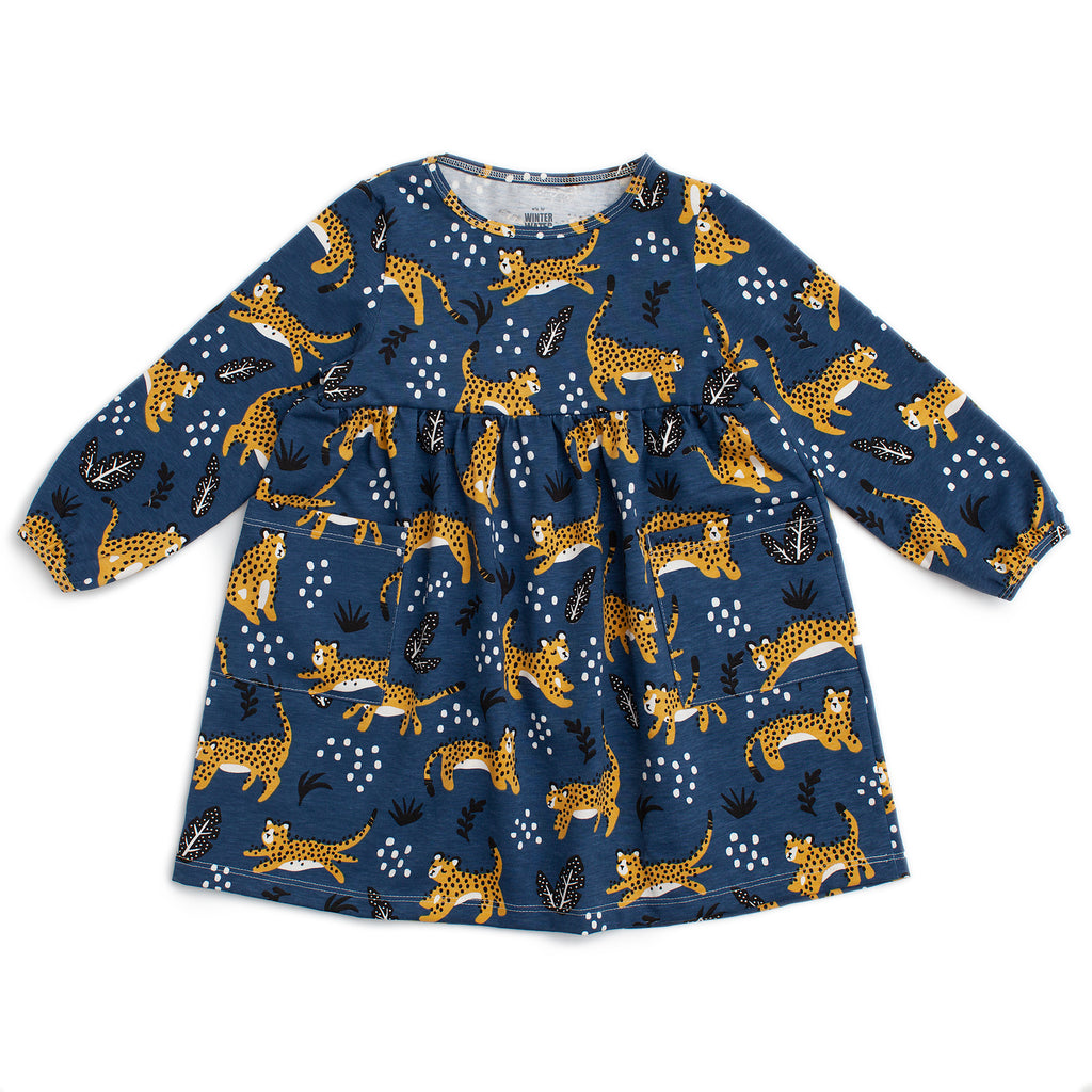 Victoria Dress - Wildcats Navy