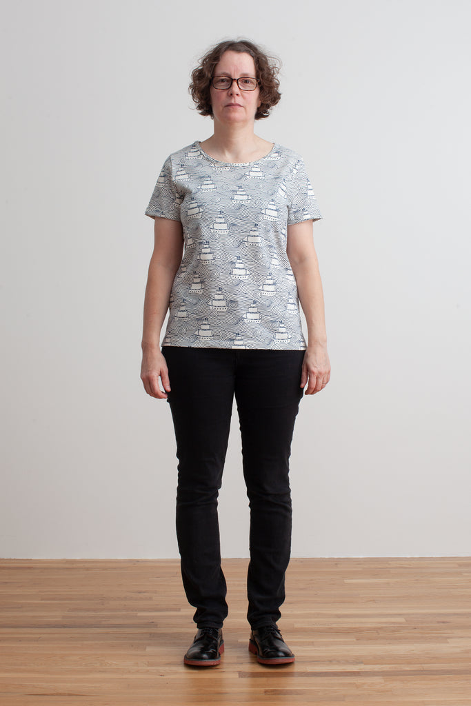 Women's Bristol Tee - High Seas Navy