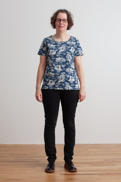 Women's Bristol Tee - Surfers Navy