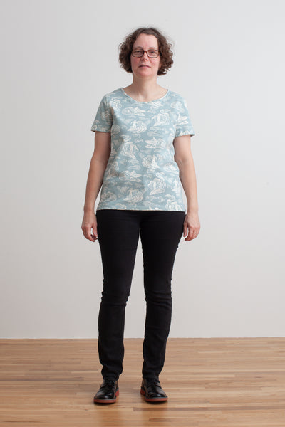 Women's Bristol Tee - Surfers Pale Blue