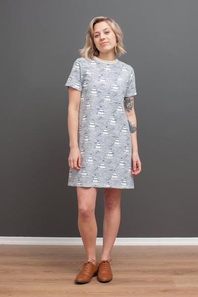 Women's Juno Dress - High Seas Navy