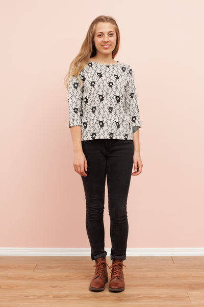 Women's London Top - Bears Black