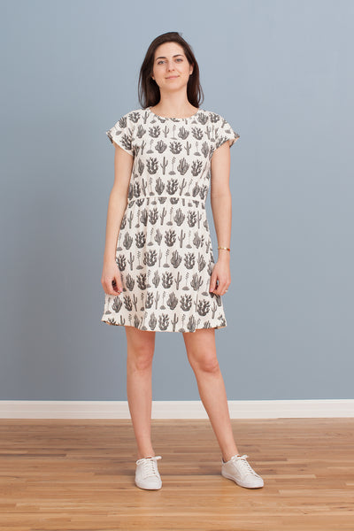 Women's Sierra Dress - Cactus Black