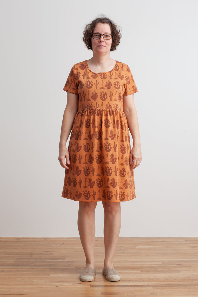 Women's Stockholm Dress - Cactus Caramel