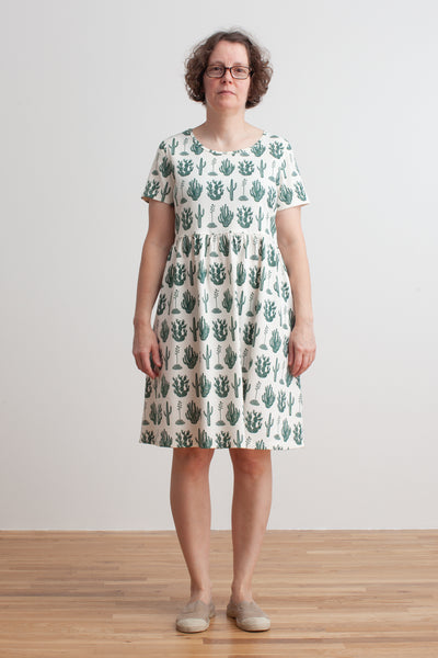 Women's Stockholm Dress - Cactus Green