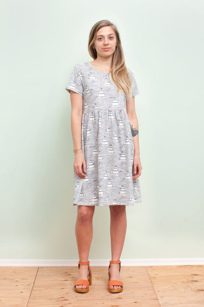 Women's Stockholm Dress - High Seas Navy