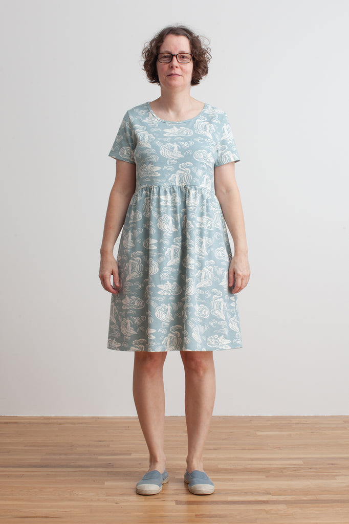 Women's Stockholm Dress - Surfers Pale Blue