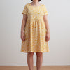 Women's Stockholm Dress - Dutch Floral Yellow