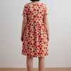 Women's Stockholm Dress - Tomatoes Red & Yellow