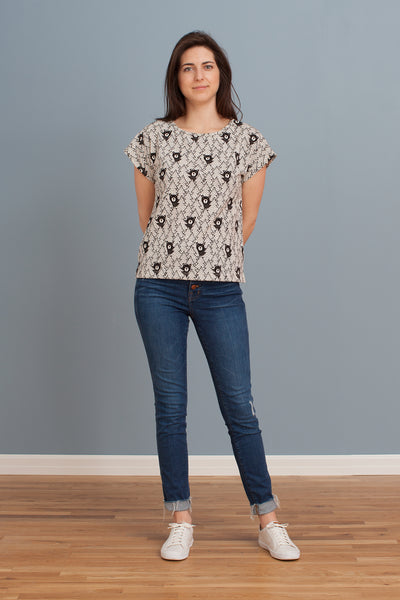 Women's Winston Top - Bears Black