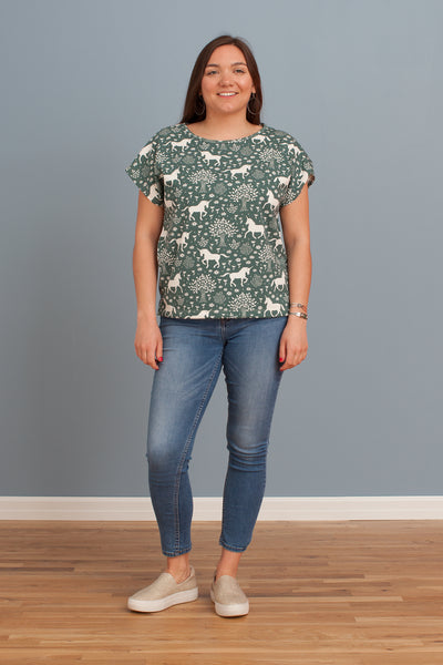 Women's Winston Top - Magical Forest Teal