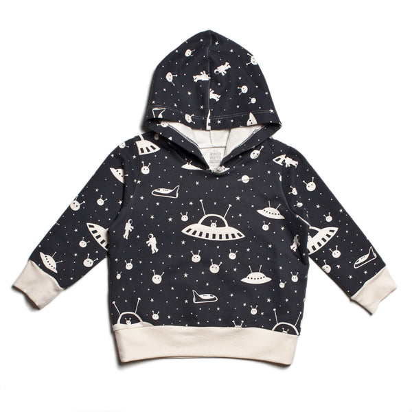 Hoodie - Outer Space Charcoal