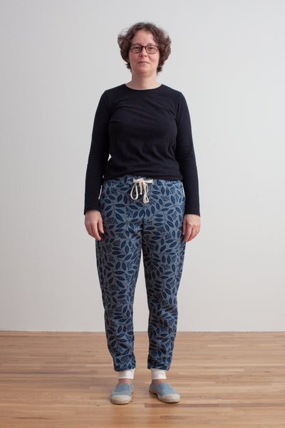 Adult Sweatpants - Elderberry Night Sky & Slate Blue