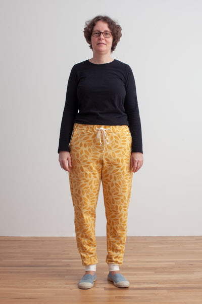Adult Sweatpants - Elderberry Ochre