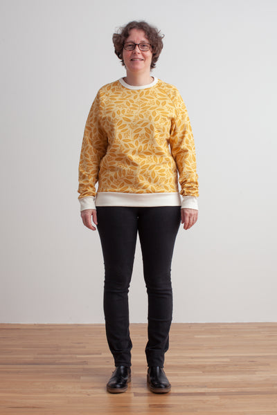 Adult Sweatshirt - Elderberry Ochre
