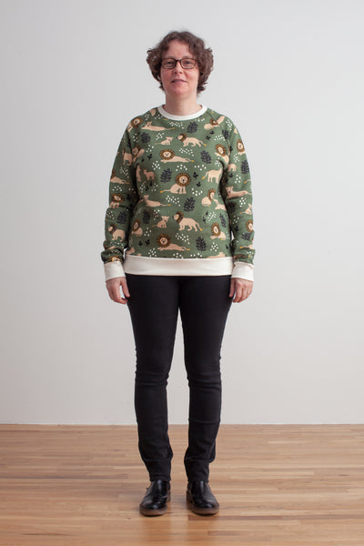 Adult Sweatshirt - Lions Forest Green