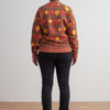 Adult Sweatshirt - Root Vegetables Chestnut