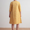 Helsinki Dress - Elderberry Ochre