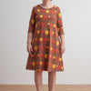Women's Helsinki Dress - Root Vegetables Chestnut