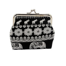 Load image into Gallery viewer, Women Wallets Elephant Floral Purse Female Clutch Coin Purse Ladies Wristlet #LREW