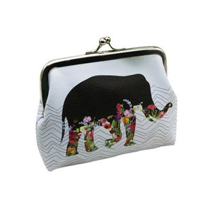 Xiniu Ladies wallets and purses anime wallets Elephant Pattern purse for Owl Coin Purse female money tray case for cards#0516SW