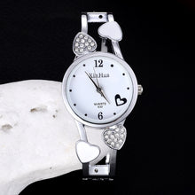 Load image into Gallery viewer, Fashion Full Steel Bracelet Watch Women'S Rhinestone Watches Ladies Watch