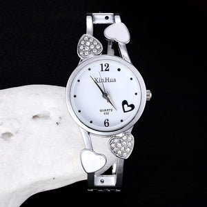Fashion Full Steel Bracelet Watch Women'S Rhinestone Watches Ladies Watch