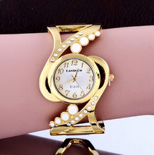 Load image into Gallery viewer, Luxury Gold Bracelet Watch Fashion Diamond Ladies Watch Women'S Watches