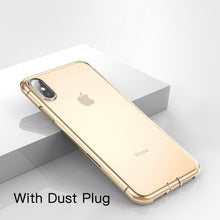 Load image into Gallery viewer, Baseus Ultra Thin Transparent Case For iPhone Xs Xs Max XR 2018 Luxury Soft Silicone Back Cover For iPhone Xs Xs Max Case