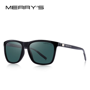 MERRYS Unisex Retro Aluminum Sunglasses Polarized Lens Vintage Sun Glasses For Men/Women S8286