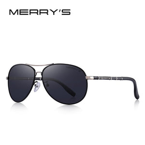 MERRYS DESIGN Men Classic Pilot Sunglasses HD Polarized Sunglasses For Men Luxury Shades UV400 Protection S8766