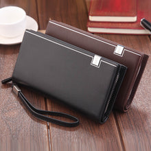 Load image into Gallery viewer, Long Wallet Clutch Money Purse ID Card Holder Coin Purse Wallet