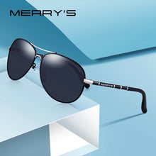 Load image into Gallery viewer, MERRYS DESIGN Men Classic Pilot Sunglasses HD Polarized Sunglasses For Men Luxury Shades UV400 Protection S8766