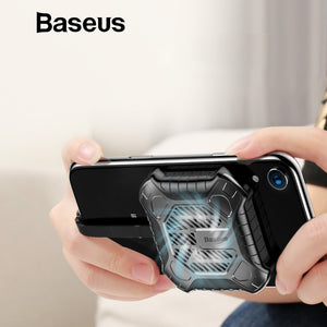 Baseus Newest Creative Mini Mobile Phone Cooler For iPhone X Xs Xs Max XR 7 8 Plus Game Cases with Audio Charging Cable Adapter